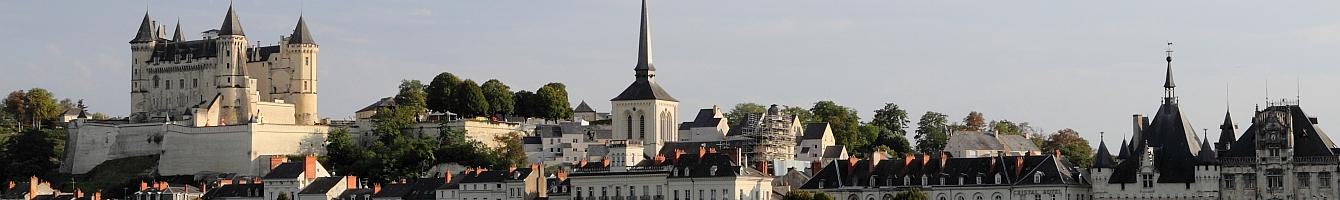 panorama de Saumur